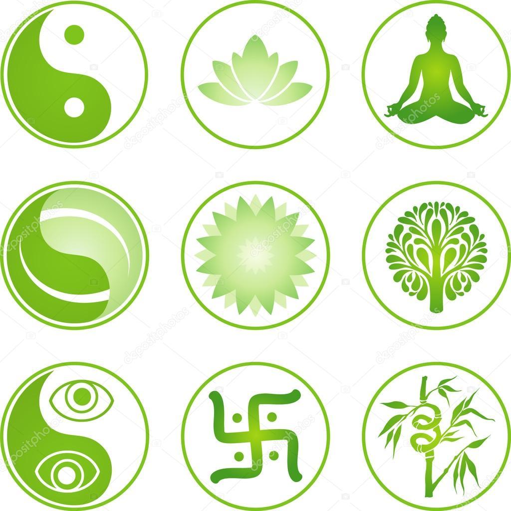 Oriental icons