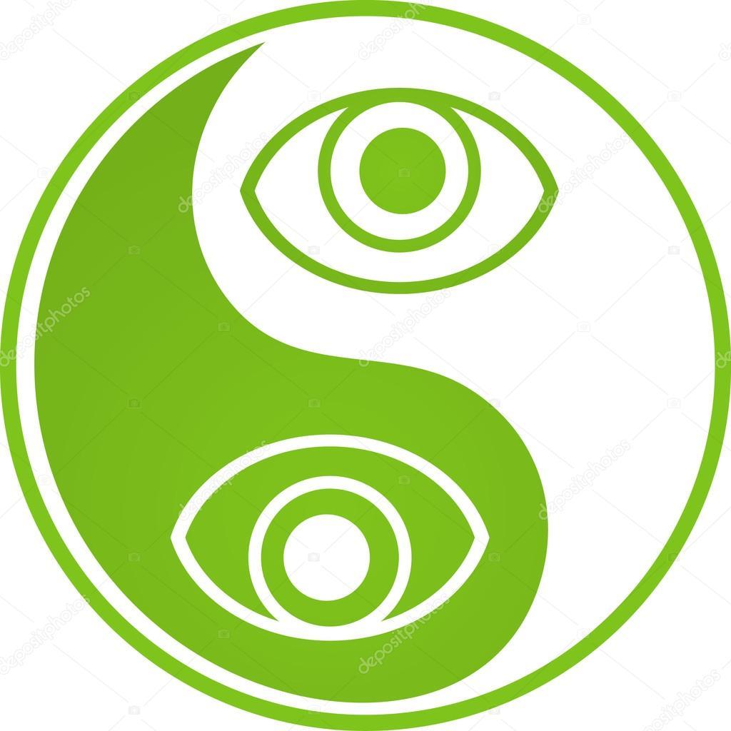 Yin Yan eye