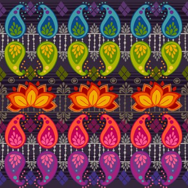 Tribal seamless pattern.