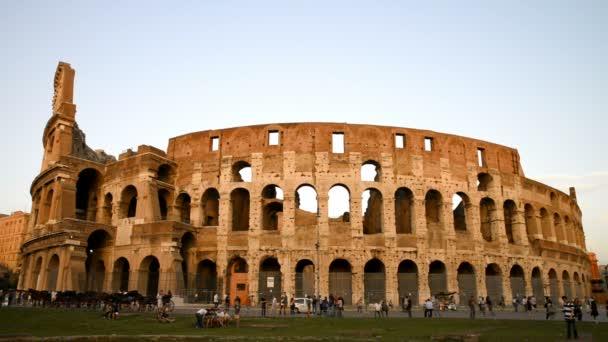 starověké Koloseum v Římě