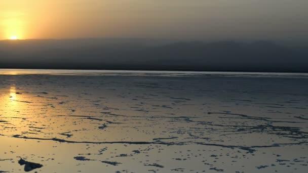 Sunset at the Lake Assal