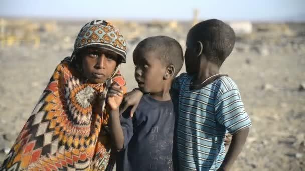 Ethiopians Children posing for the camera