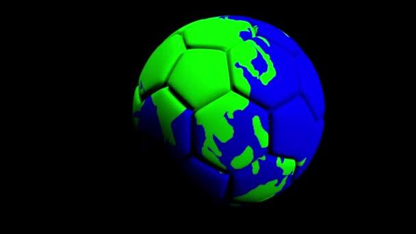 Animovaná ukázka fotbalového míče