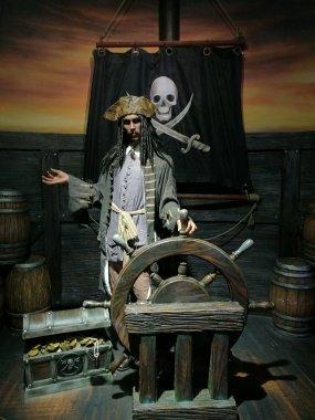 Johnny Depp wax statue