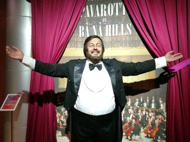 Luciano Pavarotti wax statue