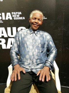 Nelson Mandela wax statue
