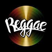 Fotografie Vektor-Vinyl-Scheibe mit Reggae-Schriftzug