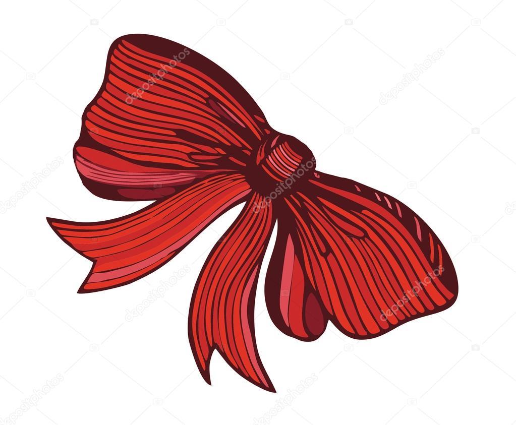 Archet De Graphique Crayons De Couleur De Dessin Rouge