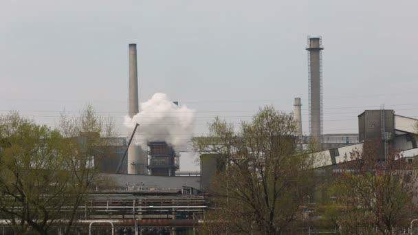 kouření elektrárna