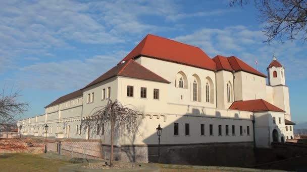 Kastély Spielberg, város Brno, Cseh Köztársaság, Dél-Morvaország, Európa, Európai Unió