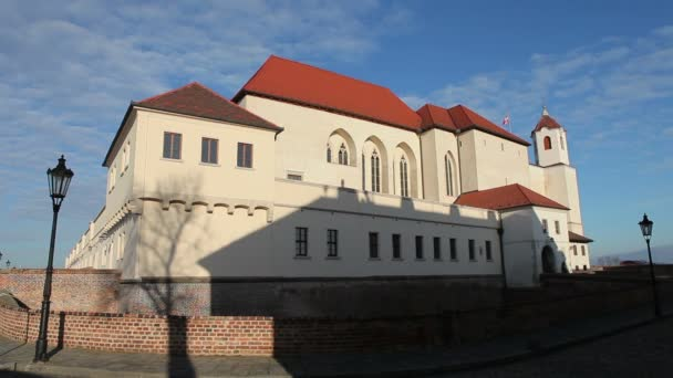 Kastély Spielberg által épített Premysl Otakar Ii Brno, a 13. század Dél-Morvaország, Csehország, Európa, Európai Unió.