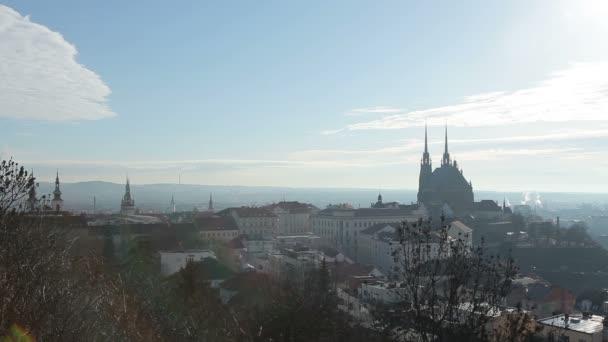 A székesegyház, a Szent Péter és Pál város Brno, Csehország, Európa.