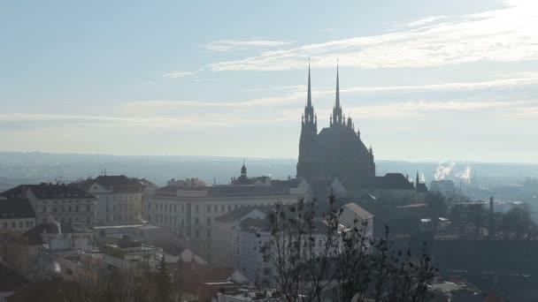 Katedrála svatých Petra a Pavla, město Brno, ČR, Evropa.