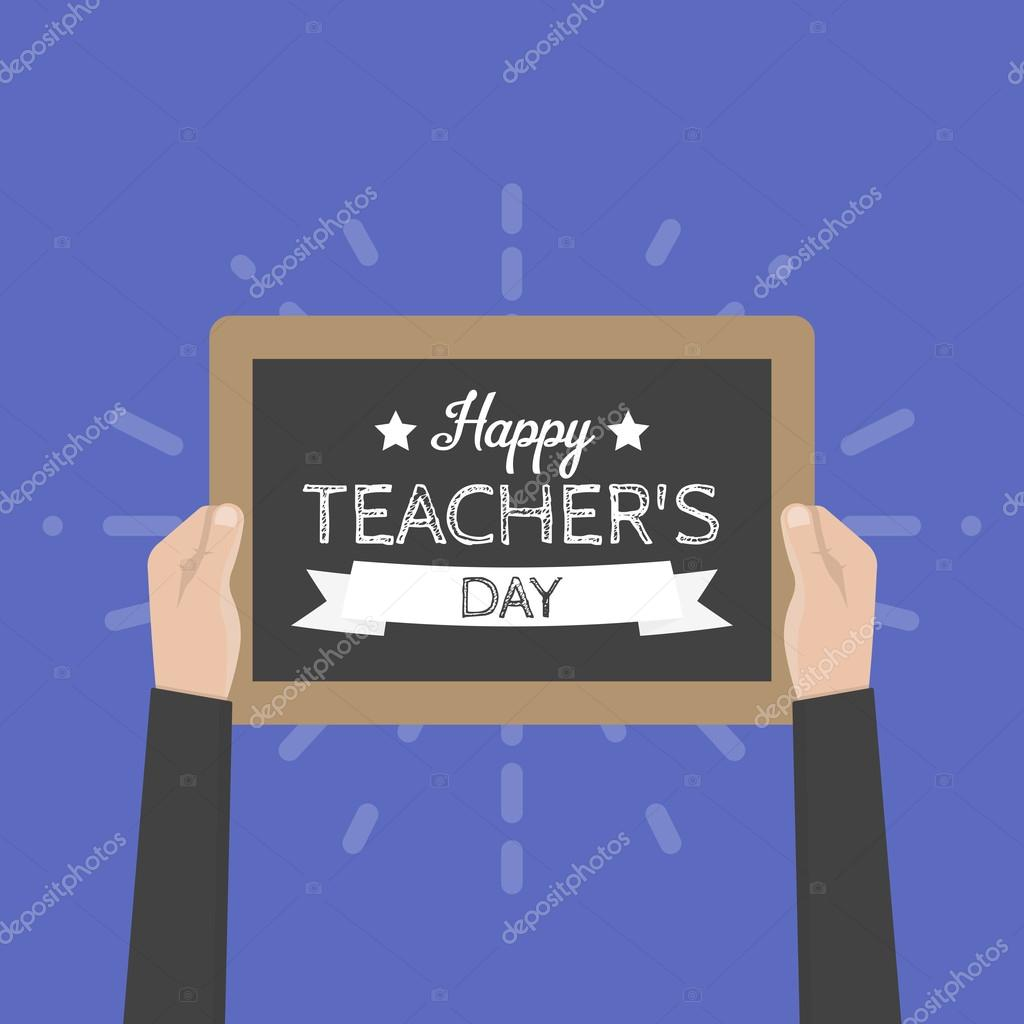 Happy teachers day greeting card vector illustration stock vector happy teachers day greeting card vector illustration stock vector kristyandbryce Choice Image