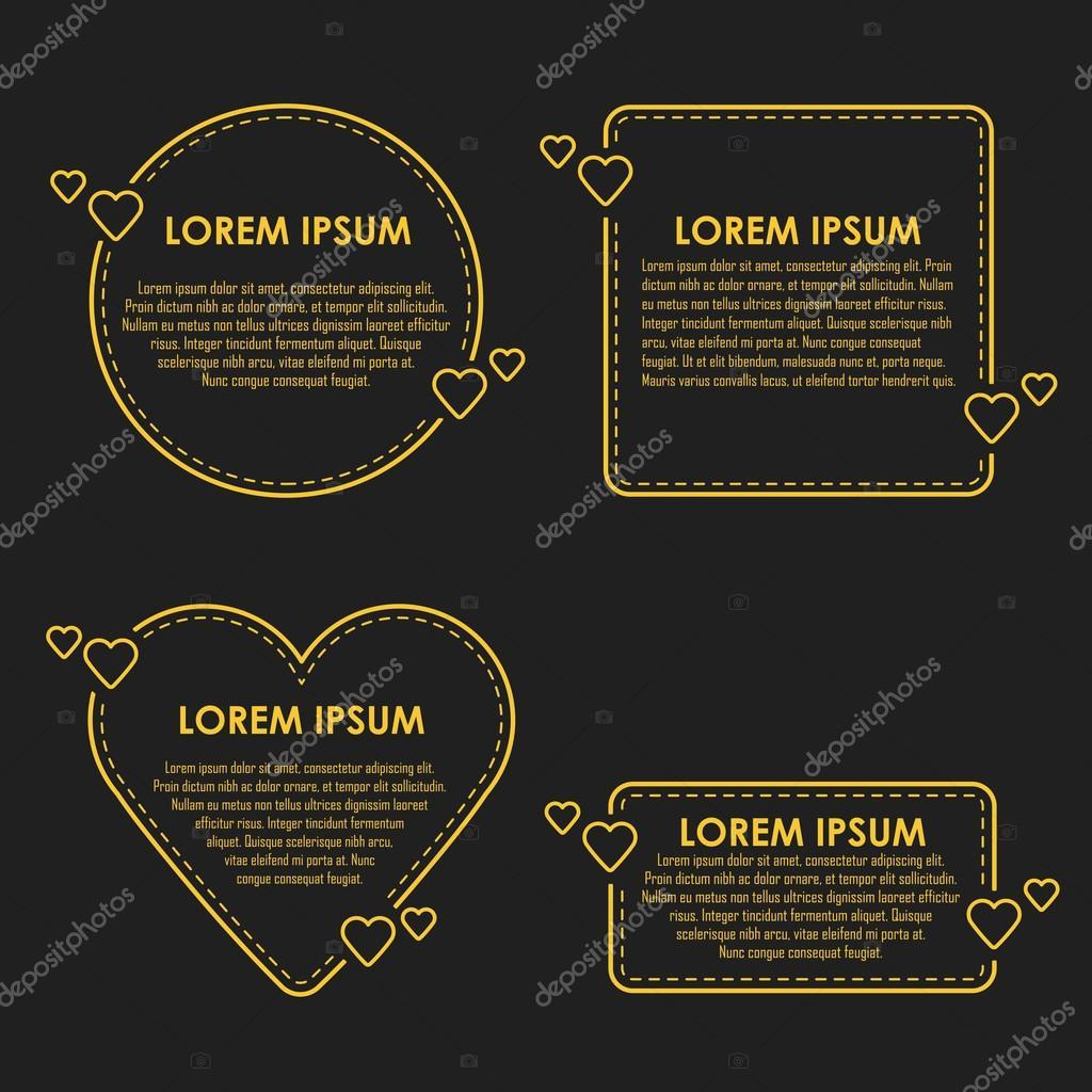 Modèle De Devis Vierge Citation Coeur Bubble Image