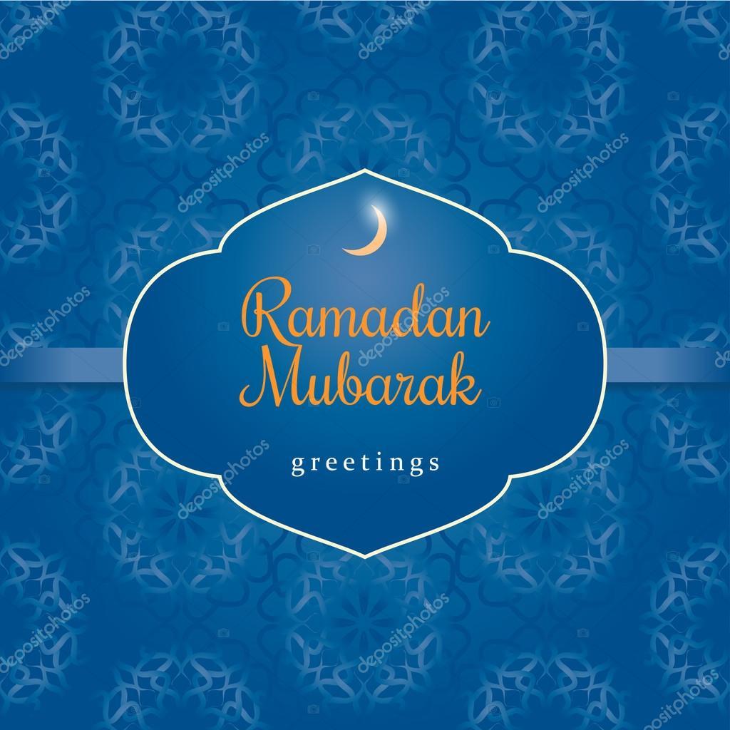 Ramadan Greetings Background Ramadan Stock Vector Maddyz 108950440