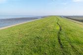 Valu moře mezi fríština poldrů a Severní moře, Nizozemsko