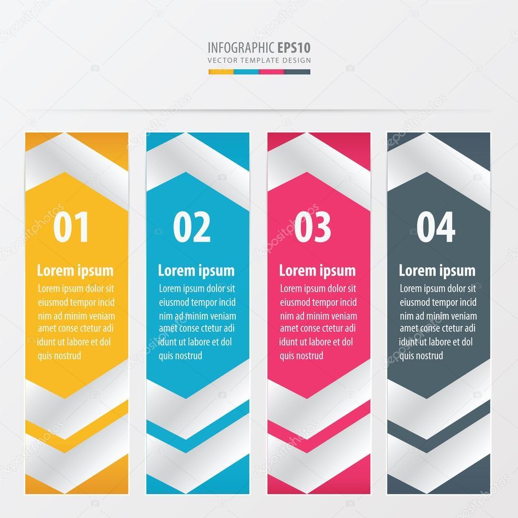 Banner plantilla diseño diseño amarillo, azul, color de rosa del ...