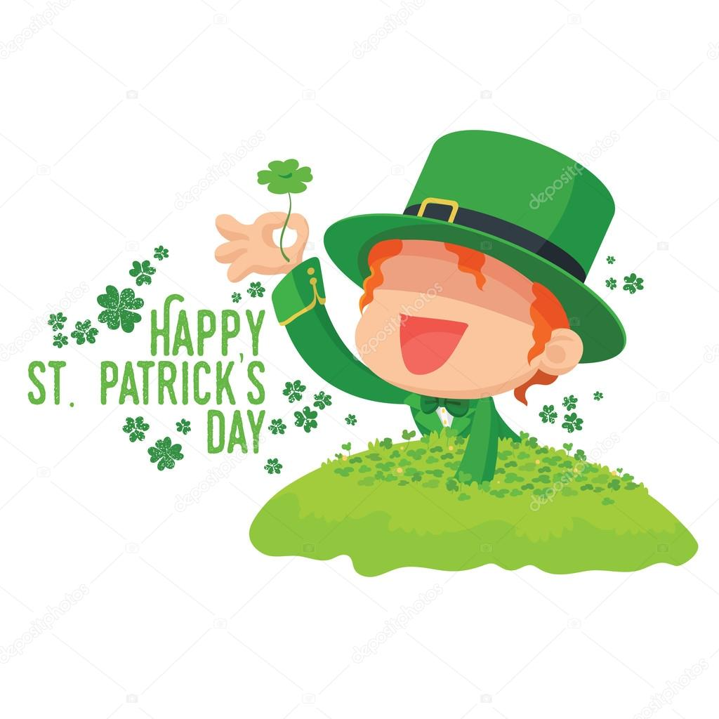 Fashion style St. clover day Patricks pictures for lady