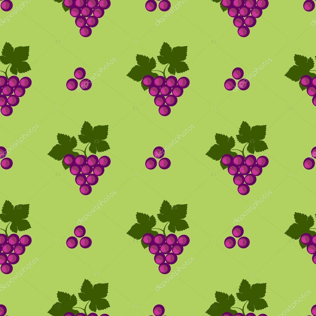 Nahtlose Früchte Vektor-Muster, helle Farbe Hintergrund mit ...