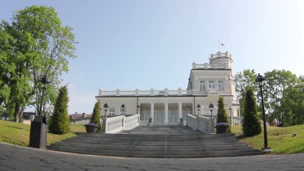 Hrad s věží v Evropě