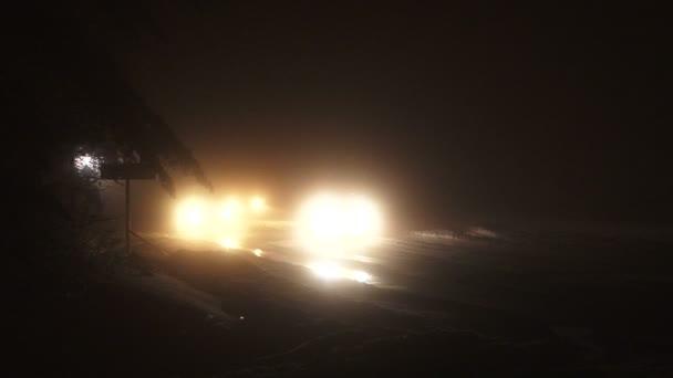 Blikající světla silniční policie