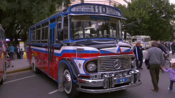 Modell der 1980er Jahre argentinische Stadtbus öffentlichen Verkehrsmittel