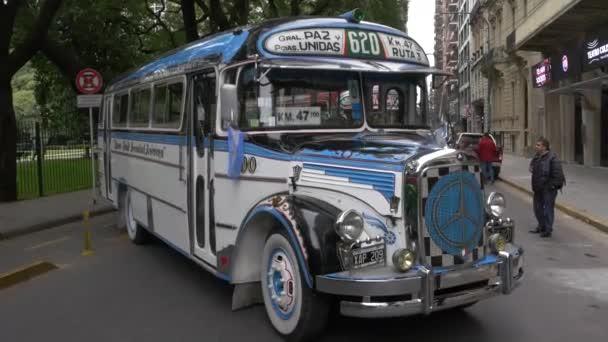 Modell der 1960er Jahre argentinische Stadtbus öffentlichen Verkehrsmittel