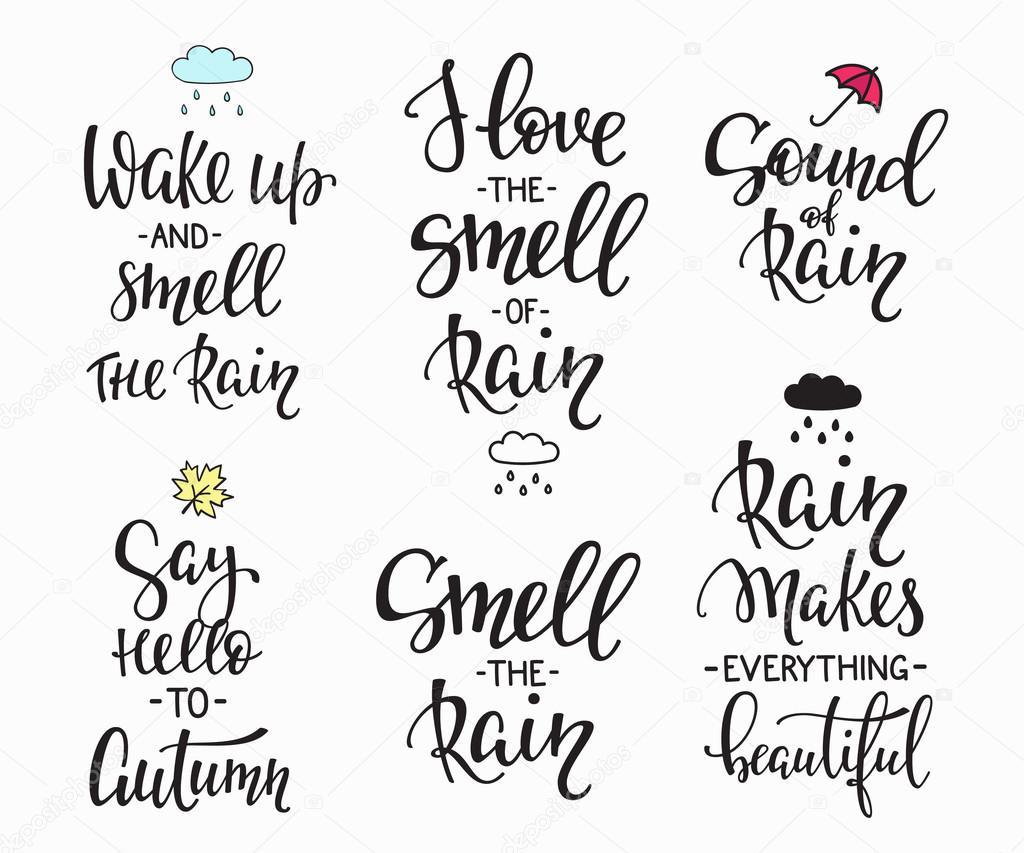 Images: rainy days with quotes | Rain Autumn Days quotes ...
