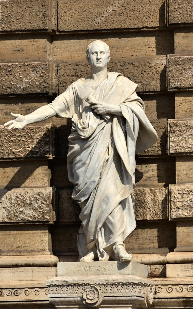 Cicero the ancient roman senator