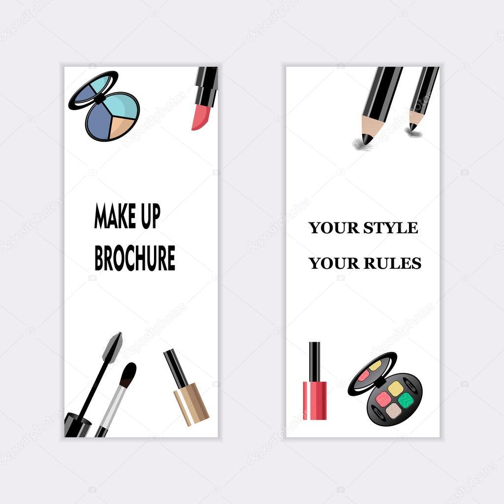 Carte De Visite Dartiste Maquillage Modle Dlments Image
