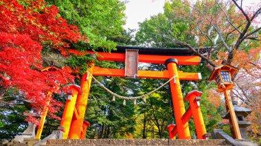 Entrance of Shrine at Kawaguchiko