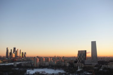 View on moscow city