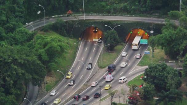 Ranní provoz v Rio de Janeiru