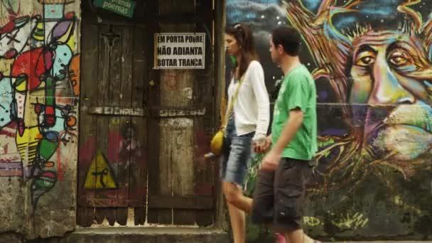 wall paintings in Rio de Janeiro