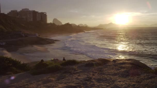 hiking path in Rio de Janeiro at sunset