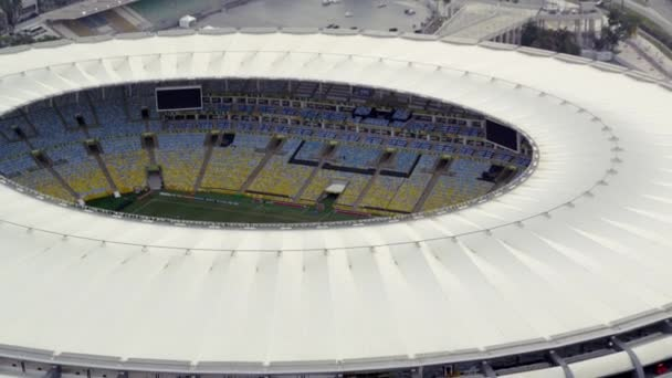 Letecké záběry Prázdný stadion Maracana
