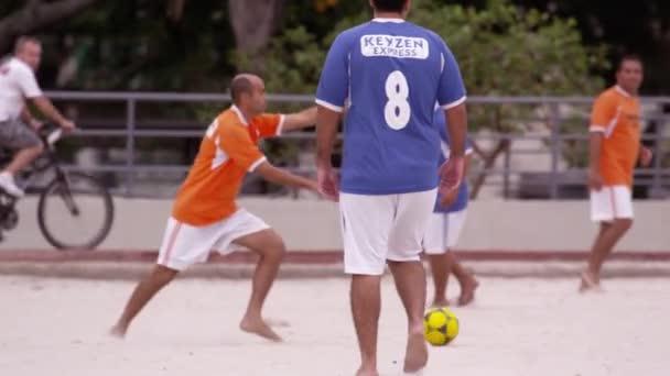 fotbalový zápas v Tavares Bastos Favela
