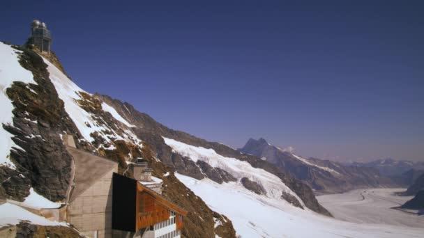alpine mountain range in Switzerland