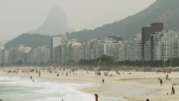 Města Rio de Janeiro z vrtulníku