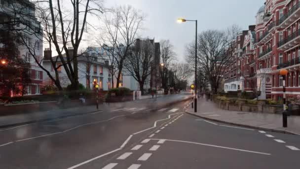 provoz na Abbey Road v Londýně