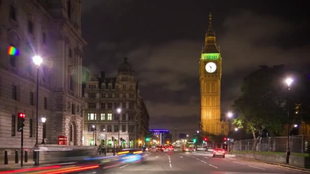 streets below Big Ben in London