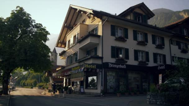 Brienzerburli hotel in Brienz, Switzerland