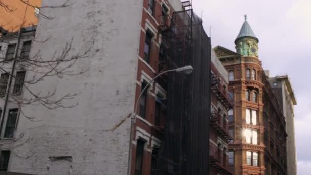 big buildings in New York City.