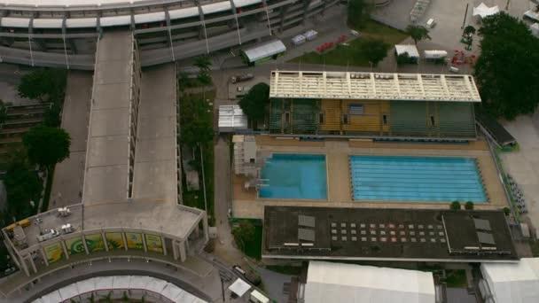 Fotbalový stadion na maracaně v Rio de Janeiru