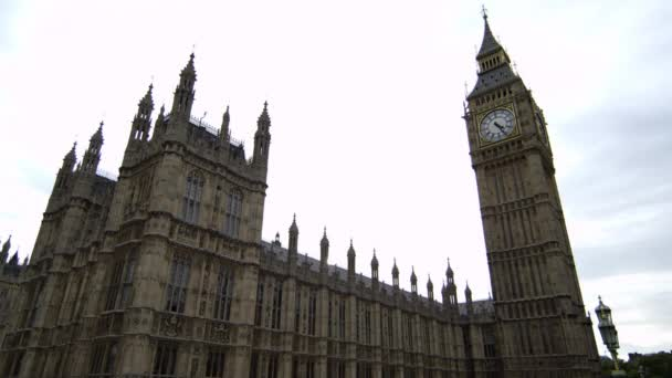 Westminster Palace and Big Ben in London.