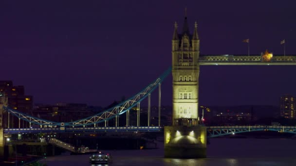 Tower Bridge in the evening in London