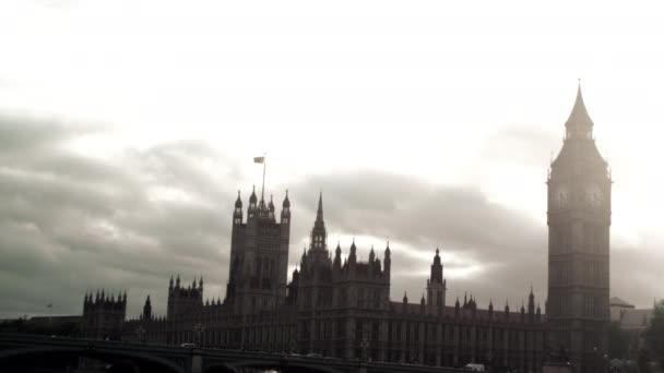 Westminsterský palác v Londýně v Anglii.