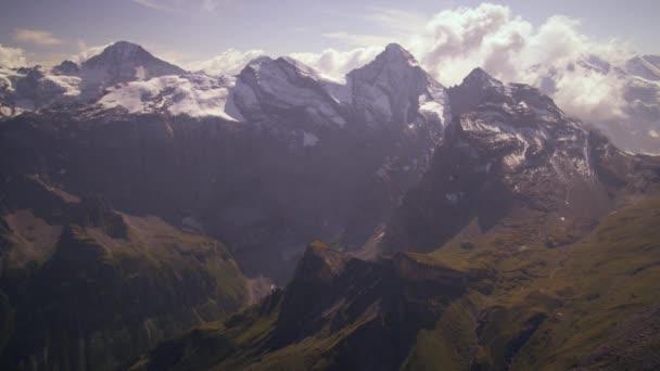 Alpine summit in Switzerland