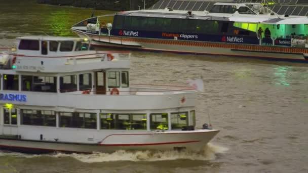 Ship Erasmus on river Thames